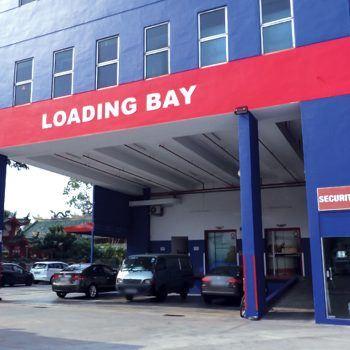 Extra Space Marymount Loading Bay