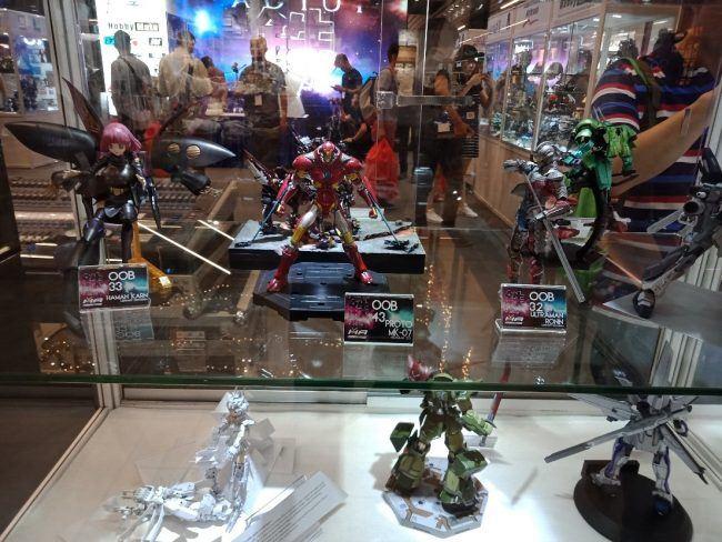 Gunpla Collection on display!